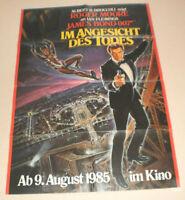 A1 Filmplakat ,IM ANGESICHT DES TODES,JAMES BOND 007 ,   ROGER MOORE