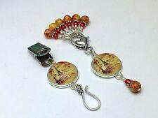 Eiffel Tower Portuguese Knitting Pin & Stitch Markers
