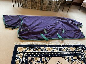 RAMBO WUG PLUS medium/heavy weight TURNOUT RUG -  6ft 3in