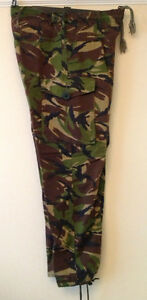 British Army Soldier 95 Woodland Camo DPM Trousers. All good issued trousers
