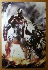 Iron Man American Flag Patriot Marvel Comics Poster by Adi Granov