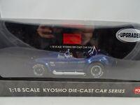 1:18 Kyosho #08046 Shelby Cobra 427 S/C RACING Pantalla Azul RAREZA§