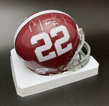 Mark Ingram SIGNED Mini Helmet Alabama INSC ROOKIEGRAPH ITP PSA/DNA AUTOGRAPHED
