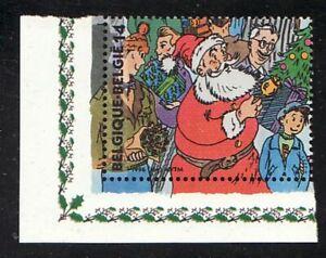 Belgien Jahrgang 1996 Blockmarke Eckrand Mi 2729 ** Weihnachten Weihnachtsmann