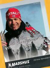 Ole Einar Björndalen (6) Autograph Picture Large Format 15 x 21 + Ski AK FREE