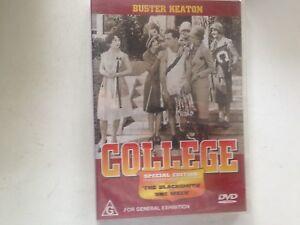 College Buster Keaton (DVD, 2001) new sealed stock Rockingham WA