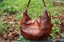 Brown LEATHER HOBO Bag, Everyday Crossbody Leather Purse, Leather Handbag