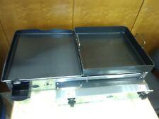 Comercial Catering van Plancha Con Freidora superficial 80x40 Cm-Gas Lpg-Plancha