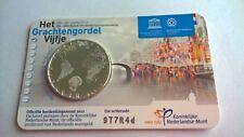 Nederland 2012 Coincard 5 Euro Het Grachtengordel Vijfje UNC (Zwaar Verzilverd)