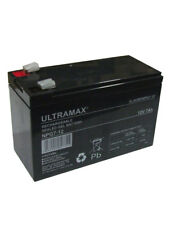 ULTRAMAX AGM GEL 12v 7Ah (as 6Ah 7.2Ah & 7.5Ah) - FLYMO CT250X STRIMMER BATTERY