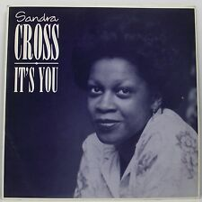 "SANDRA CROSS : IT'S YOU 7"" Vinyl Single 45rpm Picture Sleeve Excellent"