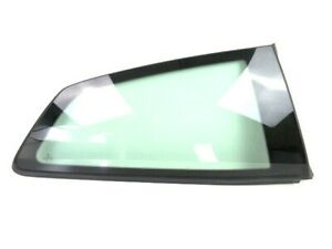 VW Polo 6R New Genuine Drivers Rear Fixed 1/4 Glass Window Green Tint 6R3845042H