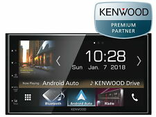 Kenwood DMX 7018 Dabs USB Bluetooth CarPlay Android auto DAB + escasa profundidad