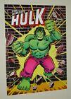 1978 Original Marvel Comics 24 x 18 Hulk poster 1: 1970's Marvelmania/Romita art