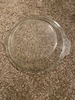 Vtg Pyrex Dome Glass Lid 682-C C-E