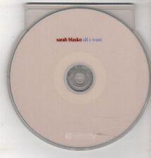 (GW524) Sarah Blasko, All I Want - 2010 DJ CD