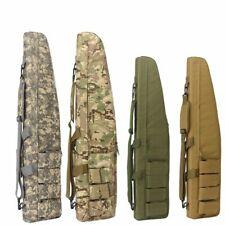 Waterproof Tactical Rifle Storage Case Backpack Military Gun Bag Long Padded Kit
