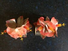 Blush Light Dusty Pink Rose Flower Headband Garland Hair Crown Bridesmaid 5368