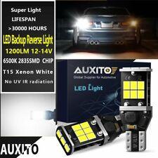 2 X T15 W16W 912 921 Error Free LED Car Reverse Back Light Bulbs 6000K White