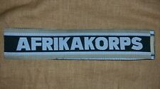 Afrika Korps Ww2 German Army Cuff Titles - Reproduction
