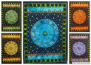 Tapestry Geometrical Wall Hanging Poster Home Decor Astrology Zodiac Hippie Art