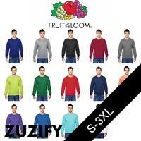 Fruit of the Loom SofSpun Crewneck Sweatshirt. SF72R