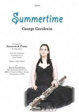 Summertime for Bassoon Solo and Piano Gershwin Sheet Music Avdanced B38 S146
