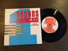 "SOUNDS SHOWCASE 1 EP UK 7"" VINYL 1987 NM The Cult Adult Net The Fall Go-Betweens"