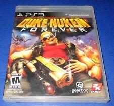 Duke Nukem Forever Sony PlayStation 3 *Factory Sealed! *Free Shipping!