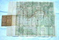 Original WWI Hammond Large Scale War Maps of Western and Italian Fronts 1917
