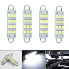 4X 561 562 567 564 12SMD 44mm Rigid Loop White LED Car Light Bulbs Accessories P
