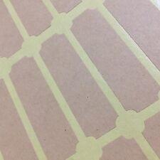 Frame Address Label Sticker Brown Rectangular, Packaging, Binder, Folder 39pc