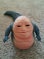 Vintage Star Wars Jabba The Hutt Action Figure  Lucas Films Moving Head Tail