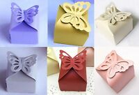 Wedding Favour Boxes Party Sweets/Candy/Gift Boxes with Butterfly Good Quality