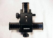 Kaiser Universal Einstellschlitten 5529 (Two Way Camera Macro Stage)