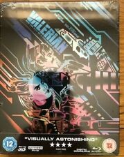 VALERIAN & THE CITY OF A THOUSAND PLANETS [4K UHD+3D BLURAY STEELBOOK]NEW/SEALED