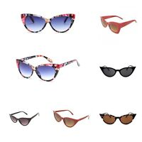 VTG 50s/60s Style womens Cat Eye Sunglasses Retro Rockabilly Glasses Vintage UK