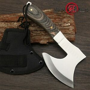2021 Survival Hunting Tomahawk Axes Hatchet Camping Hand Fire Stainless Steel