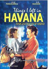 """Pelicula Cubana """"Cosas que deje en La Habana"""" / Things I left in Havana - DVD"""