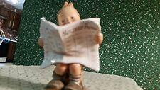"""Hummel Figurine """"Latest News"""" #184"""