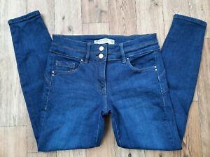 Ladies NEXT Lift Slim & Shape Skinny jeans size 12 Petite waist 30 leg 27