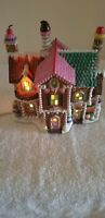 Dept.56 Sugar Hill Row Houses North Pole Series Works!