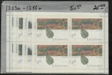 Canada Sc 1283a-86b 1990 PetroCan Forests stamp sheets mint NH