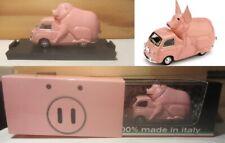 "1613. BRUMM Promo S10/47 Fiat 600D Multipla ""Piggy Piggy"" Maialiano salvadanaio"