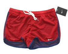 Nike Women's Swim Shorts Reversible Red Swimmers Size Large