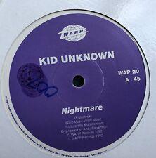 Kid Unknown NIGHTMARE Warp Records Breakbeat Breaks Ice-T Colors Aretha Franklin