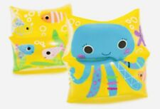 INTEX Sea Buddy Arm Bands - 1 Pair w/2 Air Chambers|Ages 3-6 Mermaid or Octopus