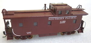 D & D Brass  Southern Pacific C-40-3 Caboose  - HO Scale