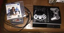 Sony PlayStation 3 Charcoal Black Console