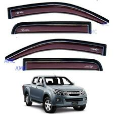 FOR ISUZU DMAX RODEO PICKUP 12-14 4 DOOR WINDSHIELD AIR GUARD VISOR RAIN WEATHER